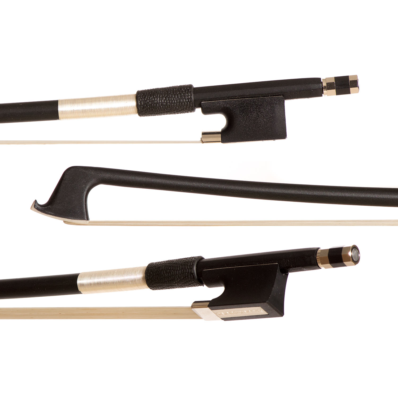 Glasser Premium Black Fiberglass 1 10 Violin Bow by Glasser