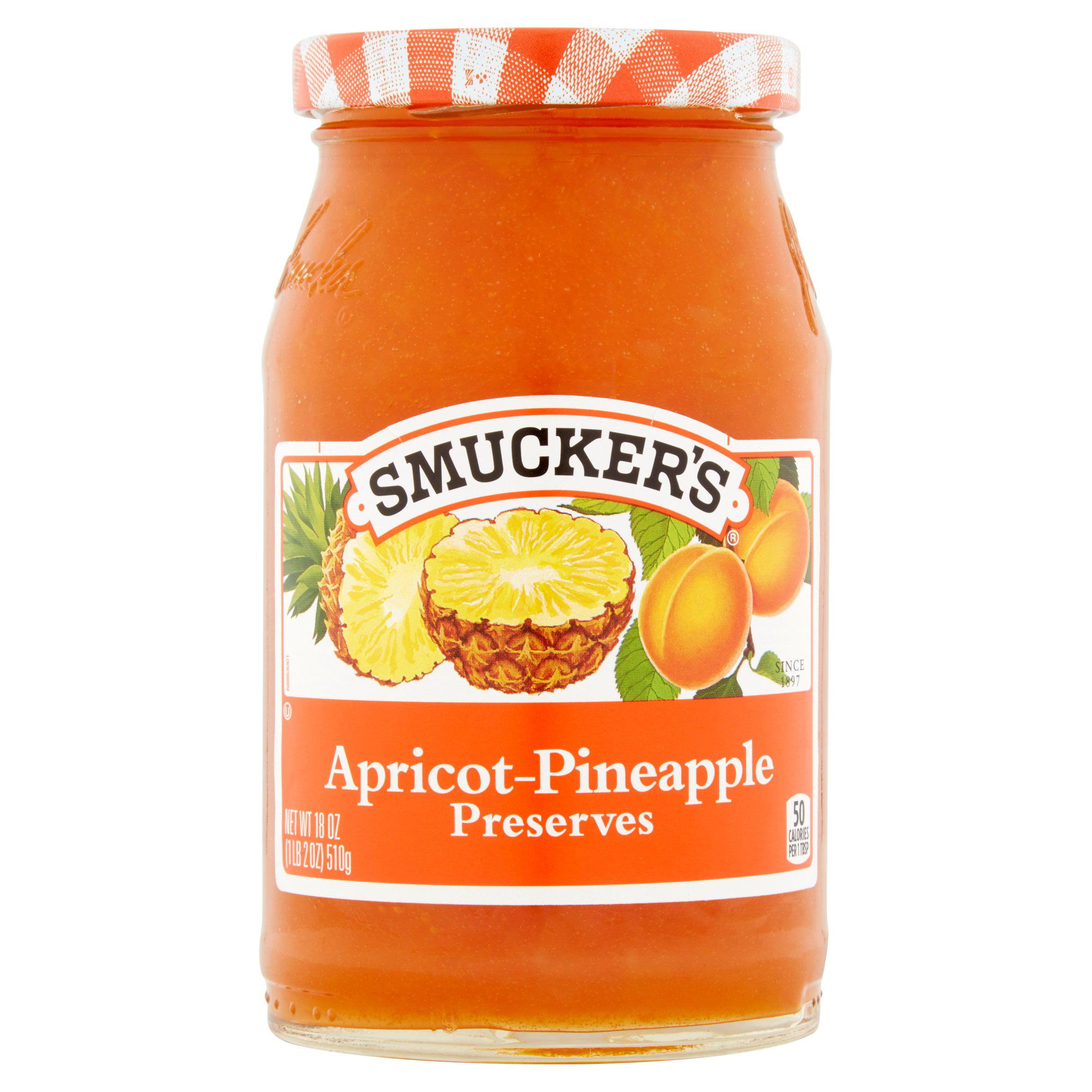 Smucker's Apricot-Pineapple Preserves, 18 oz