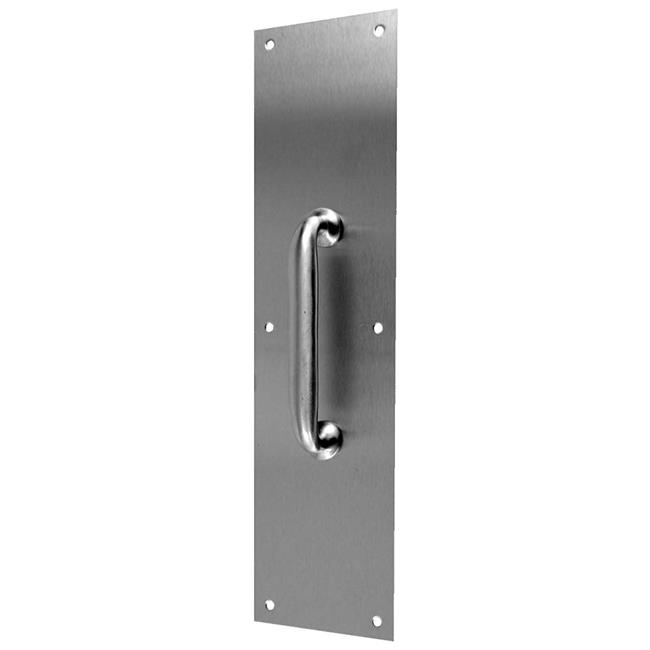 Don-Jo Manufacturing 7120-630 4 x 16 in. Stainless Steel Pull Plate with 10 in. CTC Pull - image 1 of 1