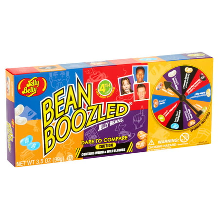 Jelly Belly BeanBoozled Spinner Game Jelly Beans, 3.5 Oz. - Bamboozled Jelly Beans