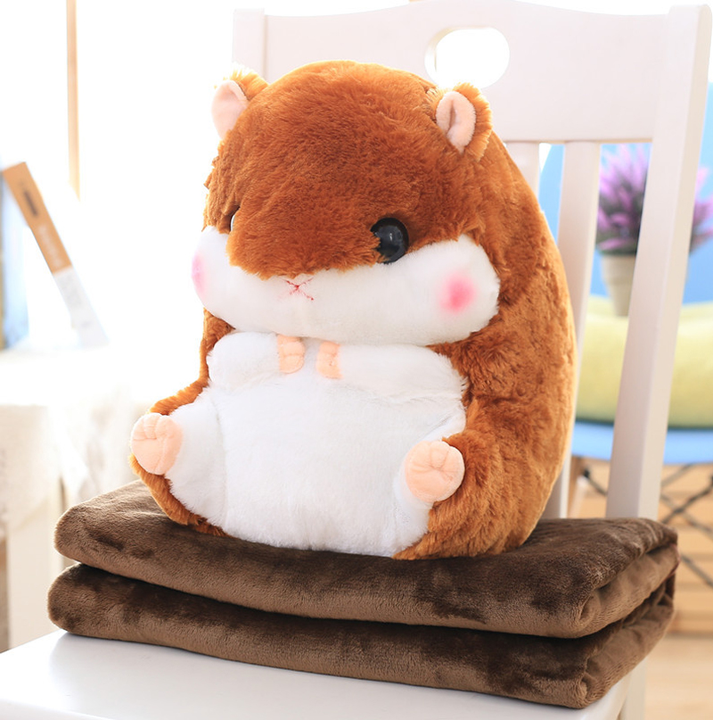 Plush Blankets and Throws, Outgeek Hamster Couch Throw Bl...