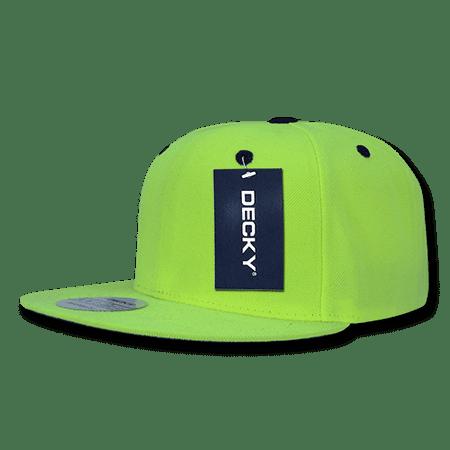 decky neon snapback retro constructed hats hat caps cap for men