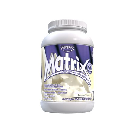 Syntrax Matrix 2.0 Sustained-Release Protein Blend, Simply Vanilla, 2 - Syntrax Vanilla Vitamins
