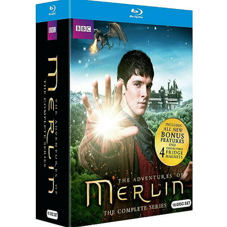 The Adventures Of Merlin  The Complete Series Gift Set  Blu Ray