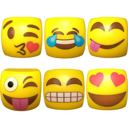 Kaomojibalms Version 1 Emoji Bâtons Baume à lèvres, .25 oz, 6 count
