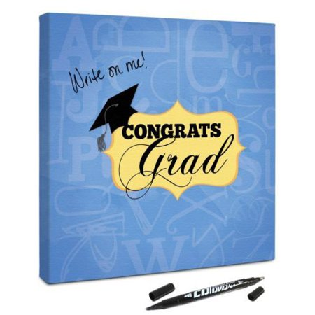 Canvas Kudos CKLE023 Graduation Plaque
