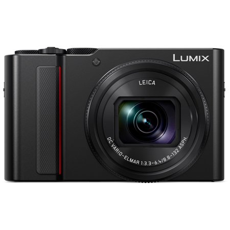 Panasonic Lumix DC-ZS200 4K Wi-Fi Digital Camera (Black)