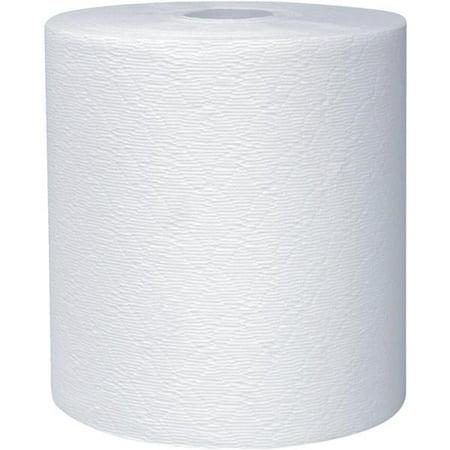Kleenex White Hard Roll - Kimberly-Clark 1-Ply Hard Roll Towel 11090