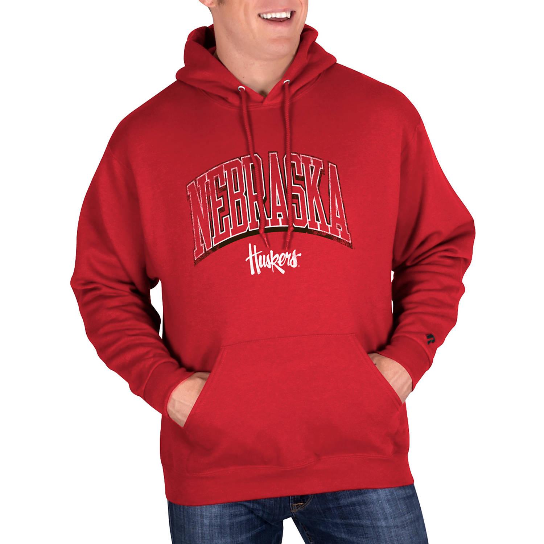 NCAA Nebraska Cornhuskers Mens Classic-Fit Pullover Hood