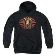 Sun Records Ray Rooster Big Boys Pullover Hoodie