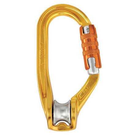 N/AL Gold Carabiner Pulley PETZL