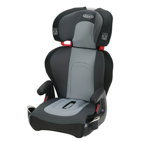 Graco TurboBooster TakeAlong High Back Booster Car Seat, Sylvan Gray