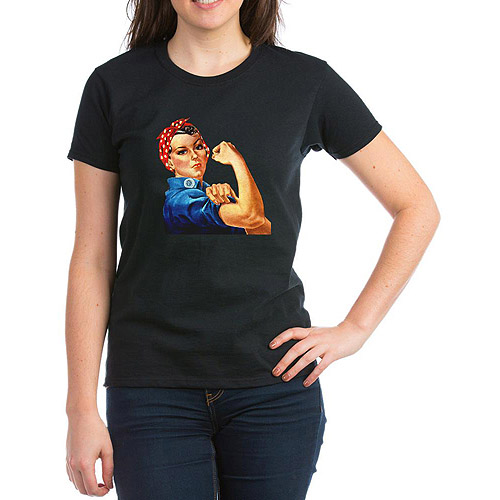 CafePress Womens Rosie the Riveter T-Shirt