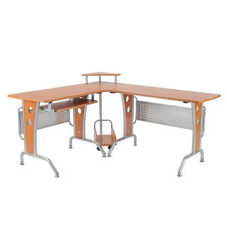 office workstation desks.  desks homcom 61 in office workstation desks