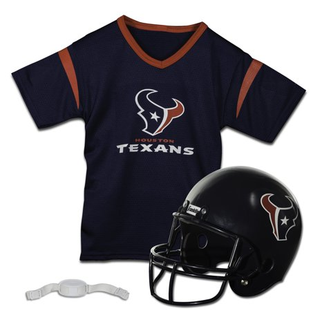 Franklin Sports NFL Houston Texans Team Licensed Helmet Jersey Set