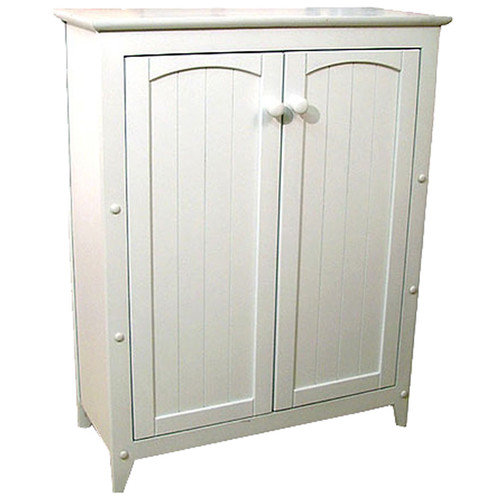 Catskill Craftsmen 2 Door Wood Storage Cabinet in White