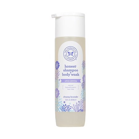 Honest Calming Lavender Hypoallergenic Shampoo And Body Wash With Naturally Derived Botanicals  Dreamy Lavender  10 Fluid Ounce By The Honest Company
