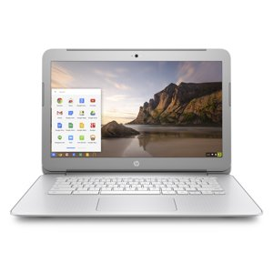 HP 14-ak045wm Chromebook, Chrome OS, Full HD IPS Display, Intel Celeron N2940 Processor, 4GB Memory, 16GB eMMC Storage