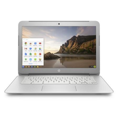 HP 14-ak045wm Chromebook, Chrome OS, Full HD IPS Display, Intel Celeron N2940 Processor, 4GB Memory, 16GB eMMC Storage