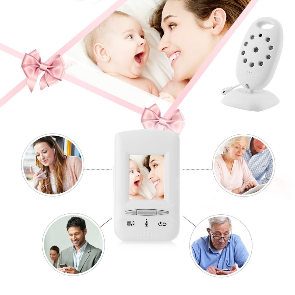 HD 720P WiFi Wireless IP Camera for Baby /Elder/ Pet/Nanny Monitor with Night Vision Summer Infant In View Video Monitor