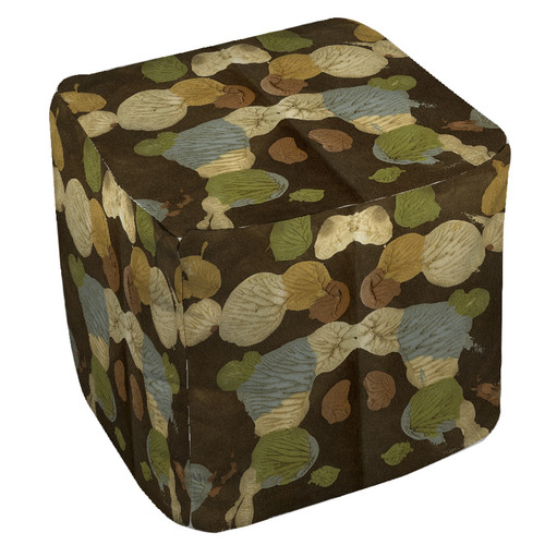 Manual Woodworkers & Weavers Rorschach Pouf