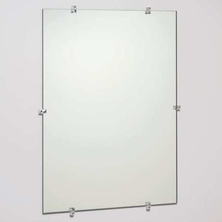 SEE ALL INDUSTRIES Glass Frameless Mirror, 18
