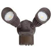 Outdoor motion sensor lights maxxima 2 head outdoor led security light 1800 lumens motion sensor photocell sensor aloadofball Gallery