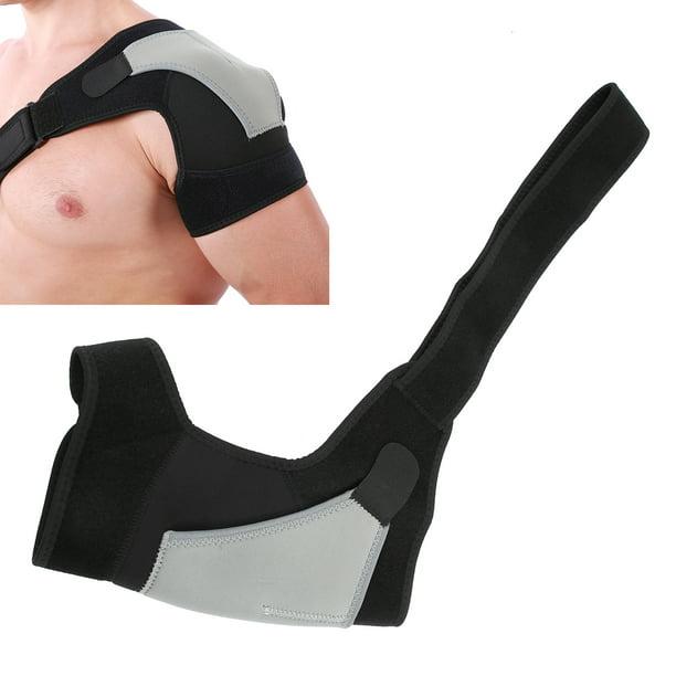 Details about  /Adjustable Shoulder Strap Support Brace Elastic Injury Guard Shoulder Protector
