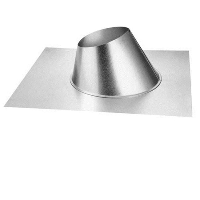 Dura-Vent 46DVA-F6 4'' x 6-5/8'' DirectVent Pro Adjustable Roof Flashing