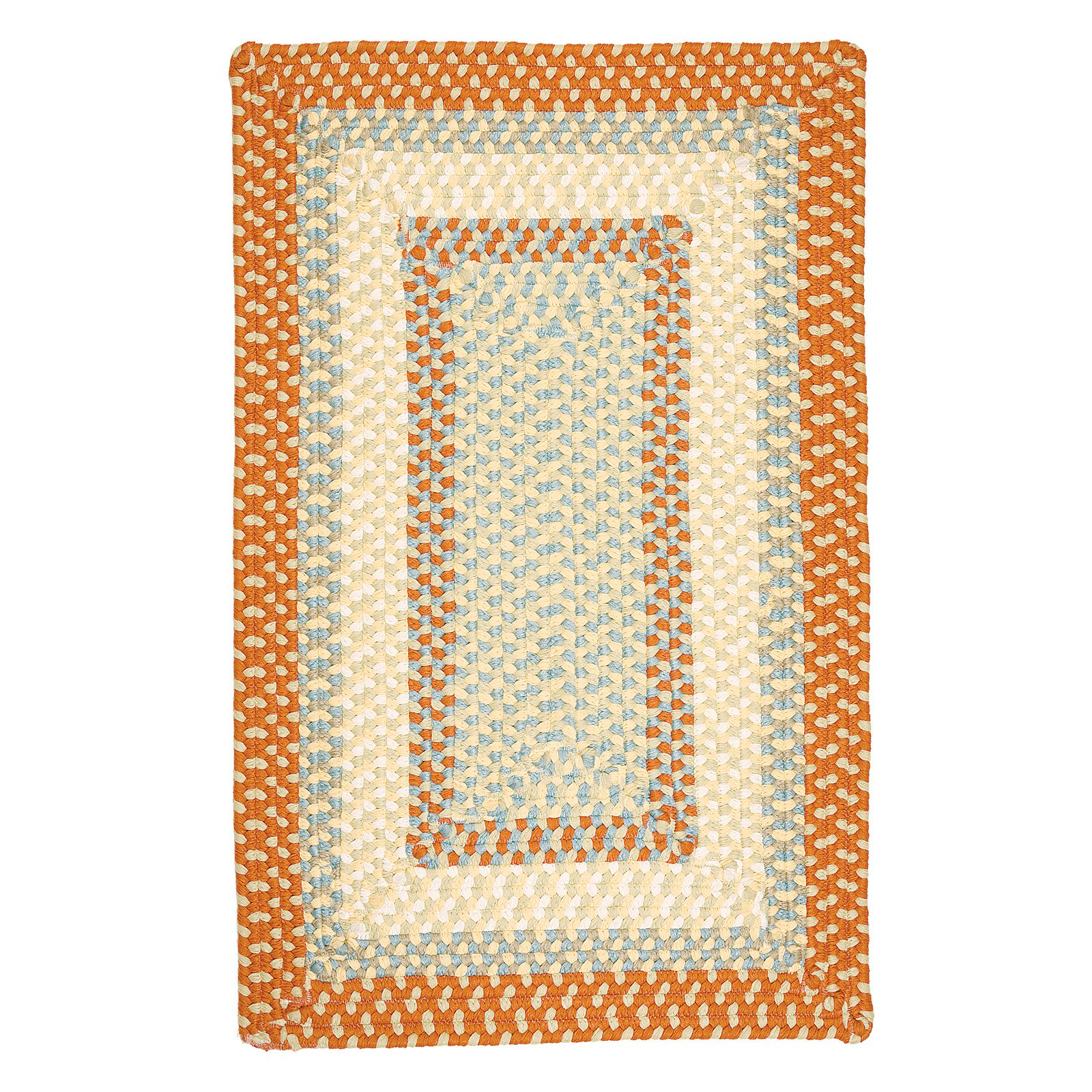 Colonial Mills Montego Indoor/Outdoor Area Rug - Tangerine