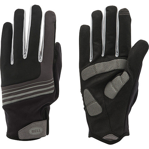 Bell Sports Scorch 850 Full Finger Cycling Gloves, S/M, Black/Gray