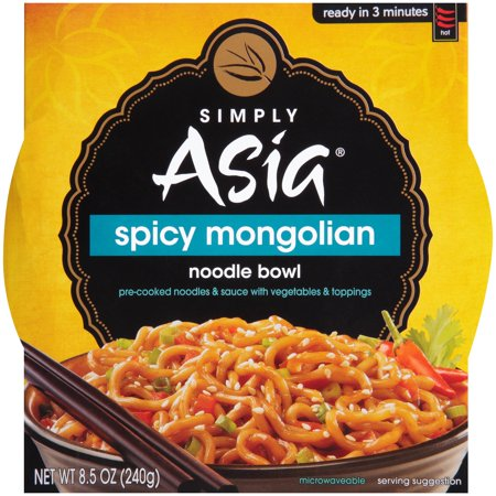 Simply Asia  Spicy Mongolian Noodle Bowl 8 5 Oz  Sleeve
