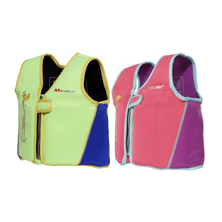 Travel Buoyancy Compensator - 3 Sizes Swim Float Vest Life Jacket for Child Kids, Drifting Vests Safety Swimming Pool Buoyancy Float Aid for Pool/Beach/Ocean