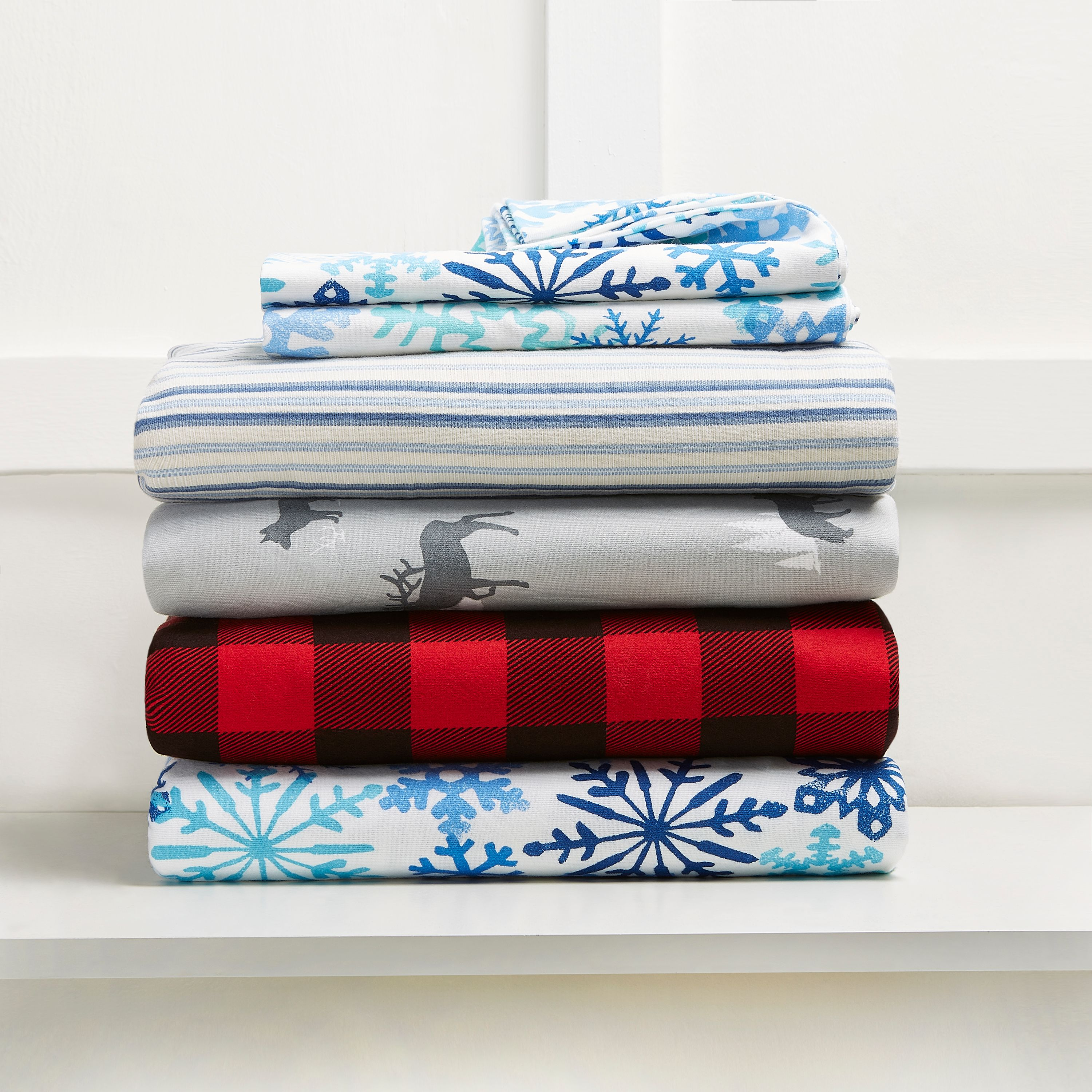 Mainstays Flannel Sheet Set
