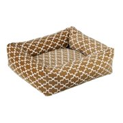 Bowsers Pet Products 10261 Large Dutchie Bed - Cedar Lattice Micv