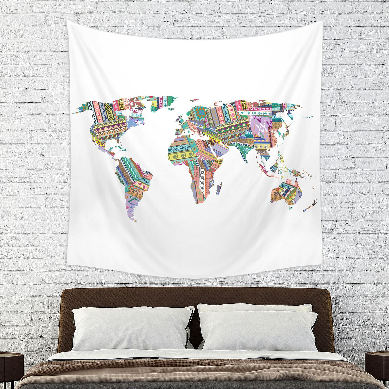 Mainstays World Wall Tapestry
