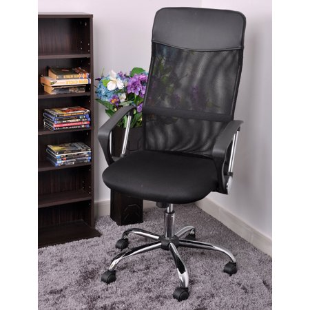 Ktaxon Ergonomic Tall High Back Mesh Fabric Swivel Office Chair Seat Height Adjule Desk