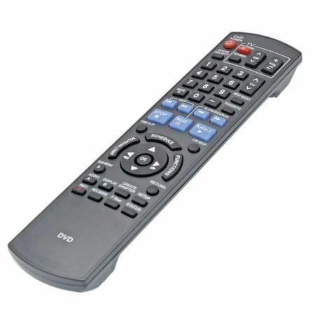 New N2QAYB000197 Remote Control for Panasonic DVD Player DMR-EZ48V DVD Recorder
