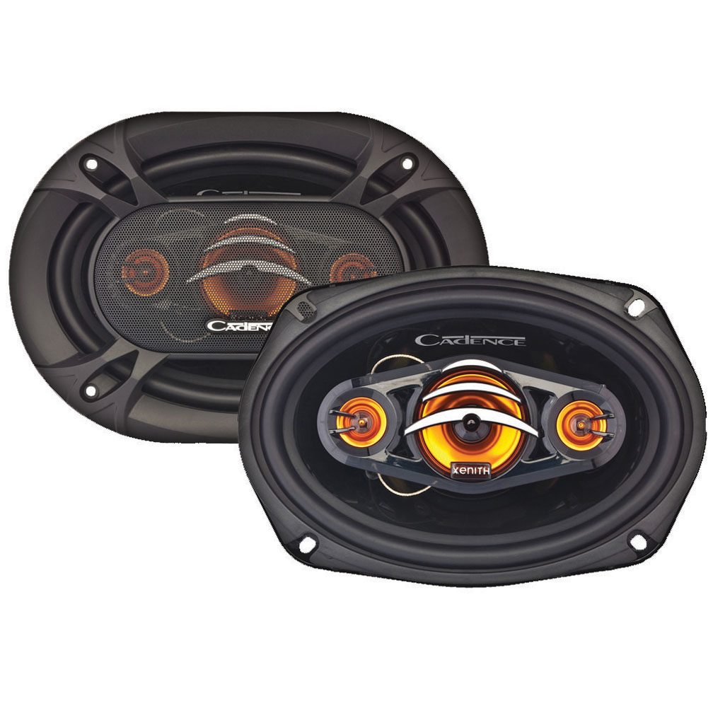Cadence Sound XS694 Cadence 6x9 4-way Speaker 250 Peak