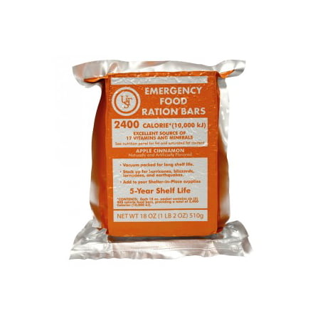 Ultimate Survival Technologies 5-Year Emergency Food Ration Bar