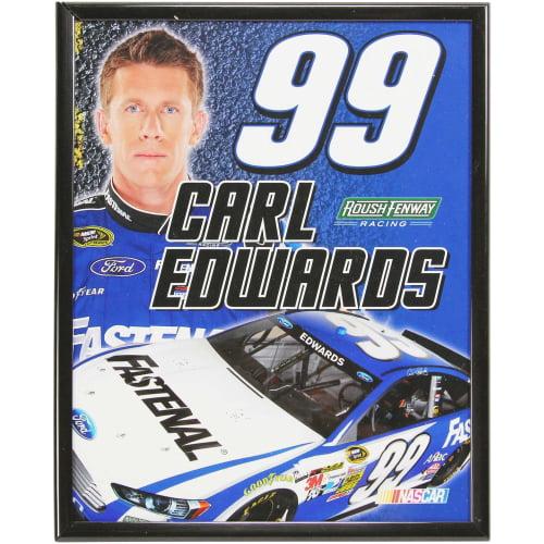 Carl Edwards 8'' x 10'' Mylar Framed Photo - No Size