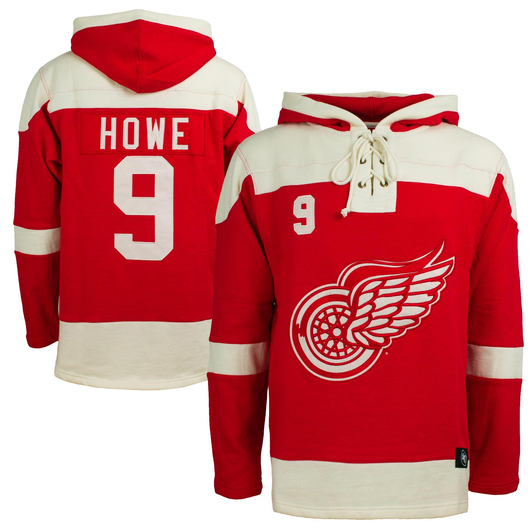 the best attitude b7869 c9116 Detroit Red Wings Gordie Howe NHL '47 Alumni Heavyweight ...
