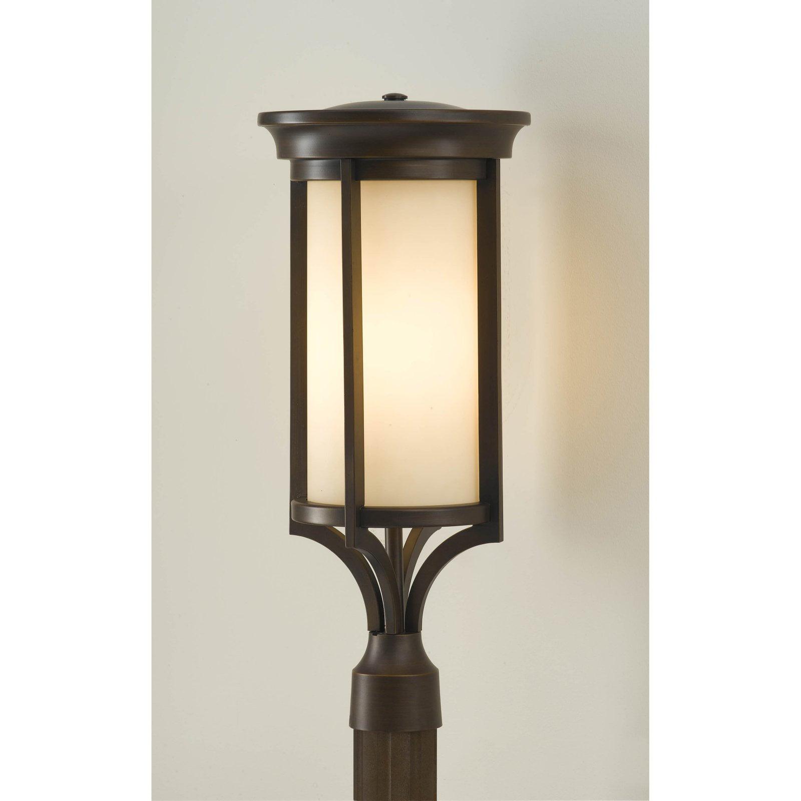 Feiss Merrill OL7507HTBZ Outdoor Post Lantern 9.5W in. Heritage Bronze by Murray Feiss