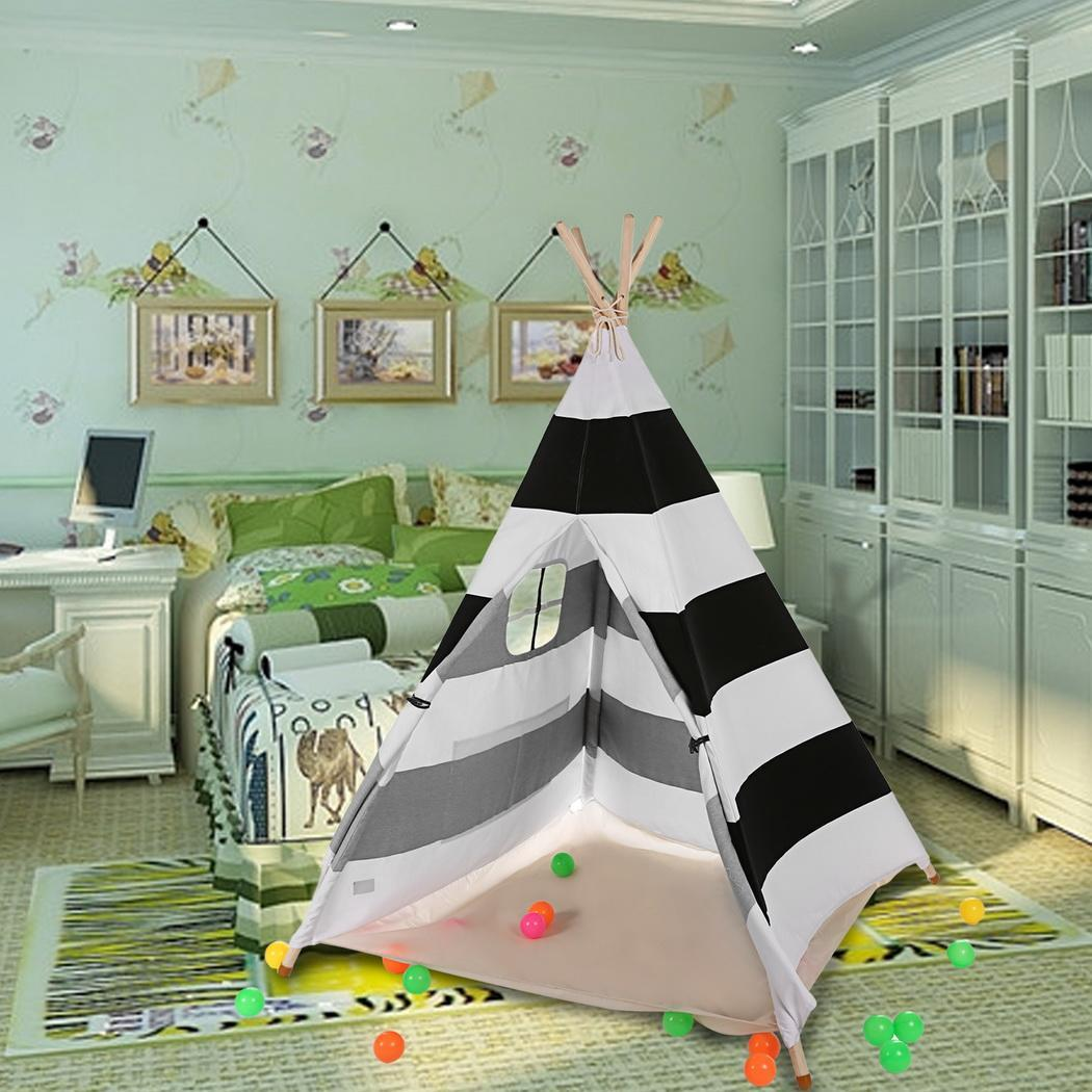 KMIMT Playing Tents - Kids Indian Style Tent Teepee Play ...