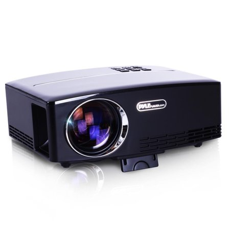 Pyle Portable Multimedia Home Theater Projector - HD 1080p LED with USB HDMI Data System Projection for Entertainment Video Photo Game Full Cinema Movie in your personal