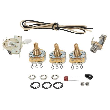 fender stratocaster guitar 5 way wiring kit crl switch cts pots vintage wire. Black Bedroom Furniture Sets. Home Design Ideas