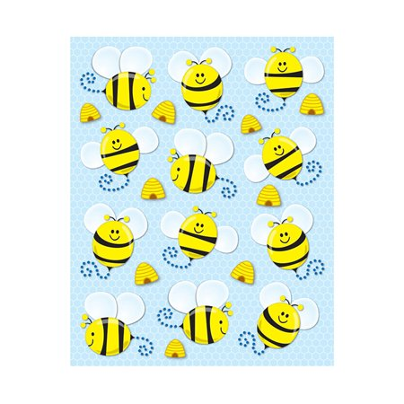 - BEES SHAPE STICKERS 72PK