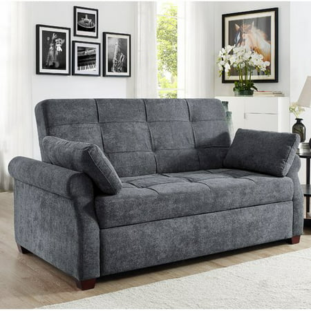 Serta Honor Convertible Sofa Gray