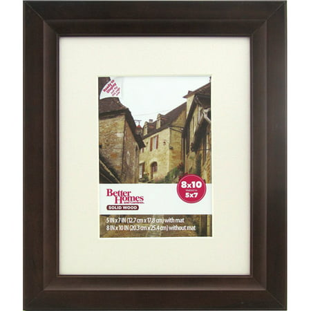 Better Homes And Gardens Studio 8x10 Wide Picture Frame