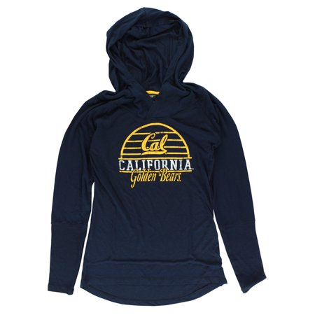 Colosseum Womens Cal Golden Bears Liftie Long Sleeve T Shirt Navy Blue